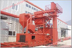Công nghệ Dây chuyền Máy phun bi <br/>dầm thép của Shindong