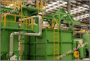Cung cấp Dây chuyền Máy phun bi <br/> tại Nhà máy X52