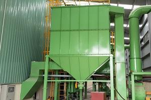 Lắp đặt Dây chuyền Máy phun bi <br> tự động tại Công ty Hồng Hà