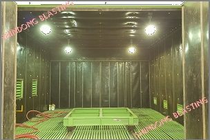 Ưu điểm Phòng phun bi làm sạch <br/> bi tự động của Shindong