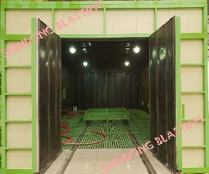 Phòng phun bi - Blasting room